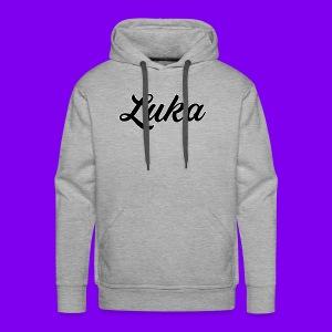 Luka Design - Mannen Premium hoodie
