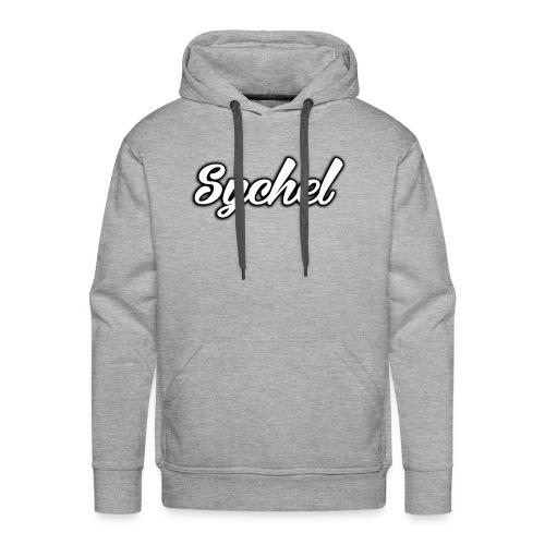 Sychel Handwriting Logo - Men's Premium Hoodie