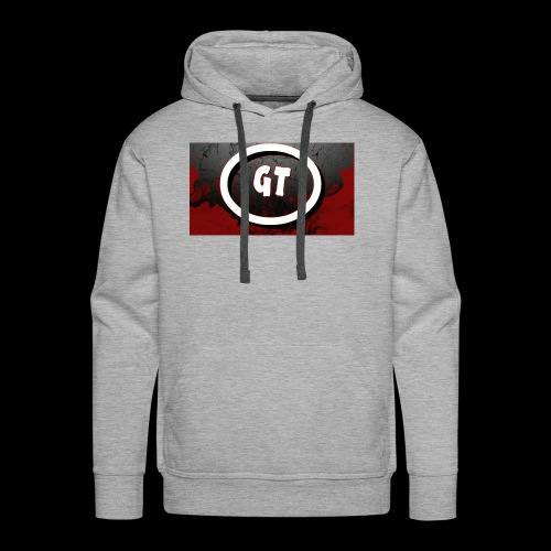 New youtube logo - Men's Premium Hoodie