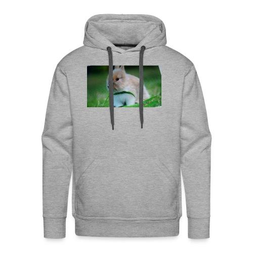 Außer Häschen T-shirt - Männer Premium Hoodie