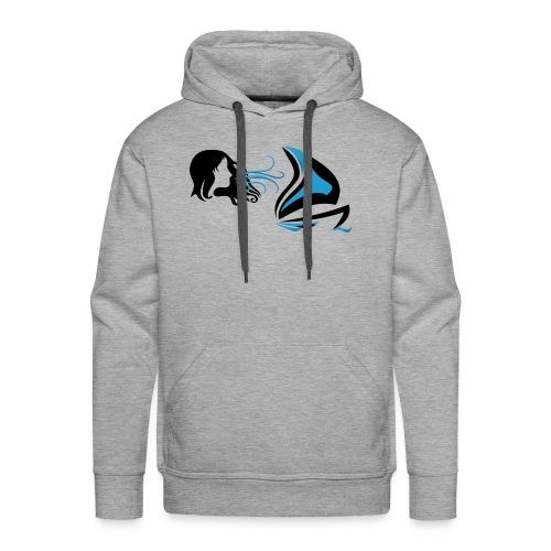 Des Voiles & Femmes - Sweat-shirt à capuche Premium pour hommes