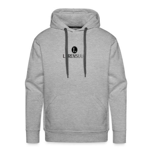 LXRENSUUUU - Sudadera con capucha premium para hombre