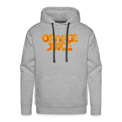 orange juice - Sweat-shirt à capuche Premium pour hommes