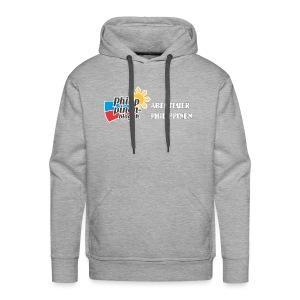 Philippinen-Blog Logo deutsch schwarz/weiss - Männer Premium Hoodie