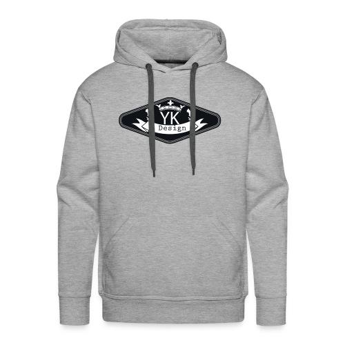 Yanik design - Sweat-shirt à capuche Premium pour hommes