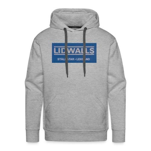 Lidwalls Stålbåtar - Premiumluvtröja herr