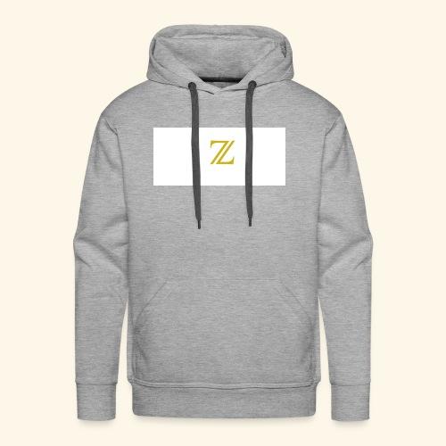 zaffer - Felpa con cappuccio premium da uomo