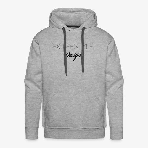 fxlifestyle design - Men's Premium Hoodie