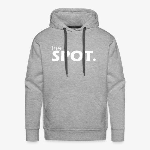 theSpot Original White - Men's Premium Hoodie
