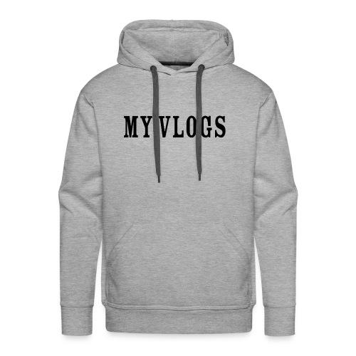 My Vlogs - Men's Premium Hoodie