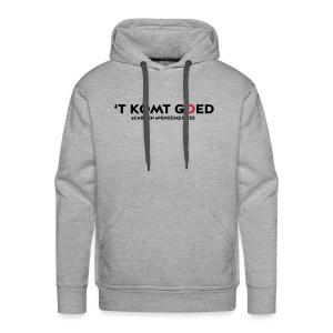 t komt goed - Mannen Premium hoodie