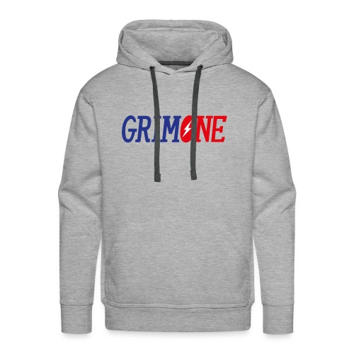 GRIMONE Logo - Männer Premium Hoodie