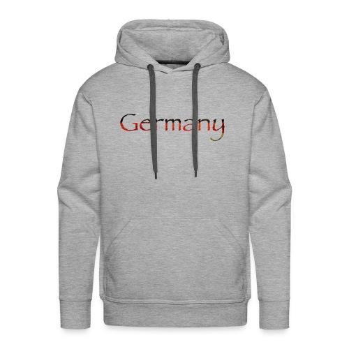 Deutschland Schriftzug Horizontal - Männer Premium Hoodie