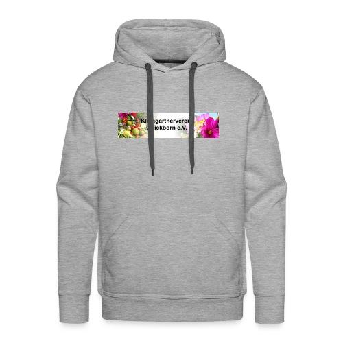 Banner Kleingärtnerverein Quickborn - Männer Premium Hoodie