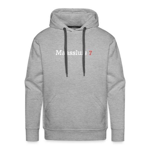Maassluis 7Seven - White Edition - Mannen Premium hoodie