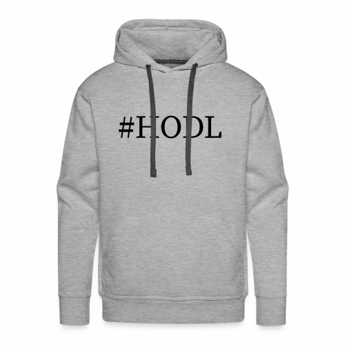 Hodl - Männer Premium Hoodie