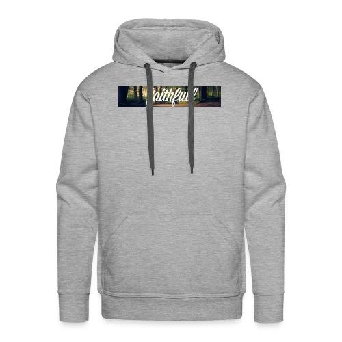 faithfullt-shirt trees - Mannen Premium hoodie