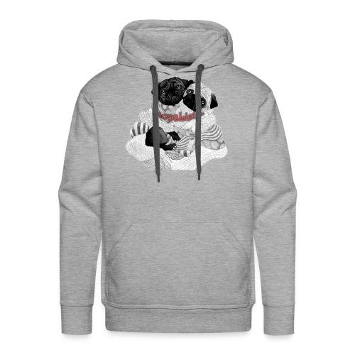 Mopsi - Männer Premium Hoodie
