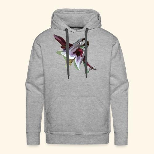 Purple Aquilegia - Men's Premium Hoodie