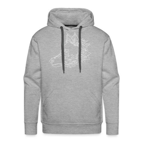 Graphic Wolf - Mannen Premium hoodie