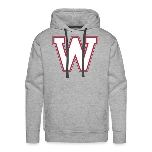 W-badge - Sweat-shirt à capuche Premium pour hommes