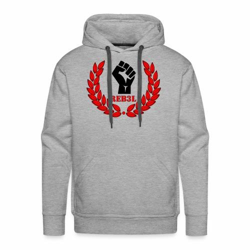 Steel Rebels Logo - Männer Premium Hoodie