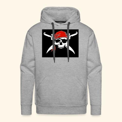Bones Flag - Sudadera con capucha premium para hombre