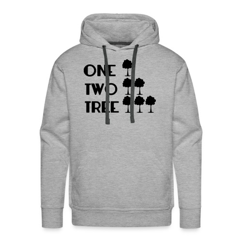 ONE-TWO-TREE-SF - Sudadera con capucha premium para hombre