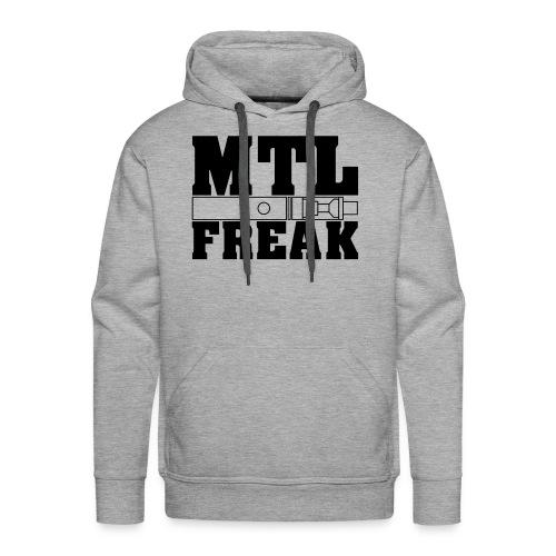 MTL Freak Dampfer Motiv - Männer Premium Hoodie