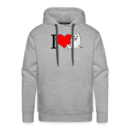 superkees zwart wit - Mannen Premium hoodie
