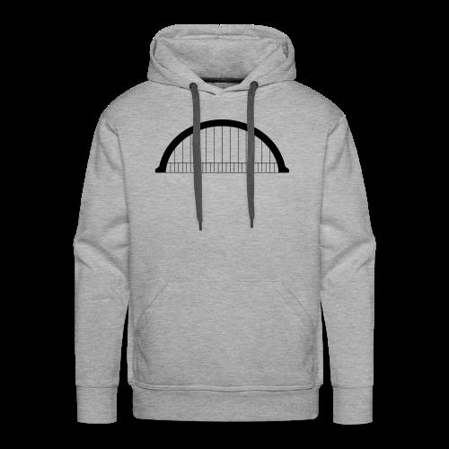 Morlet - Sweat-shirt à capuche Premium pour hommes