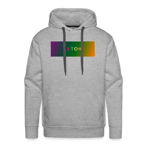 Axton tie dye - Herre Premium hættetrøje