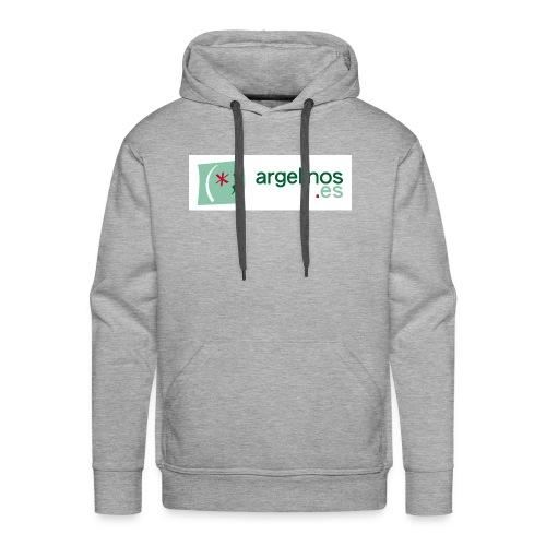 ArgelinosTshirt - Sudadera con capucha premium para hombre
