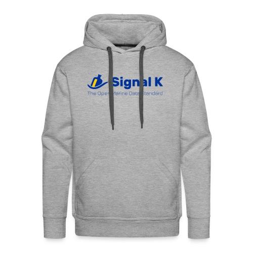 Signal K T-shirt - Men's Premium Hoodie