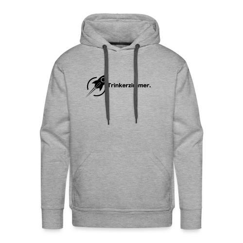 Trinkerzimmer black-Line - Männer Premium Hoodie