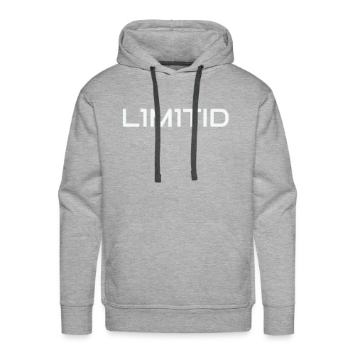 L1M1TID Official Tee - Premium hettegenser for menn