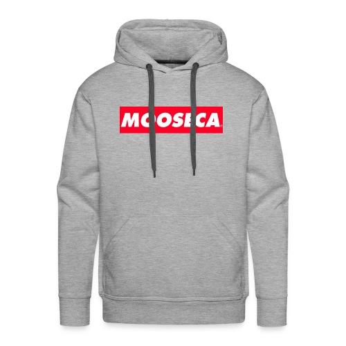 MOOSECA CAP - Felpa con cappuccio premium da uomo