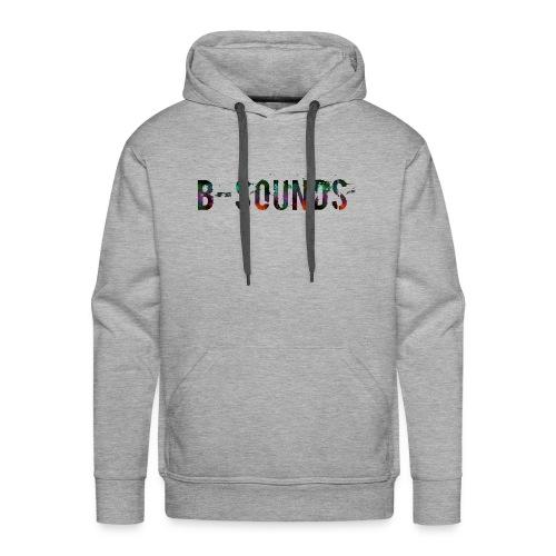 B-SOUNDS TEXT - Mannen Premium hoodie