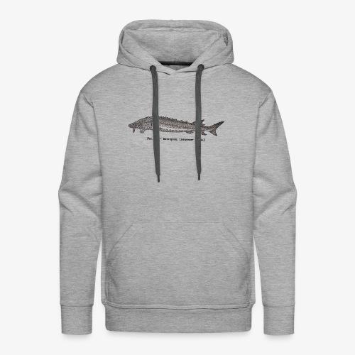 Esturgeon-Fig.38 - Sweat-shirt à capuche Premium pour hommes