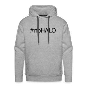 #noHALO black - Men's Premium Hoodie