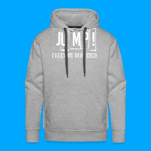 BASIC LOGO JUMP WHITE - Sudadera con capucha premium para hombre