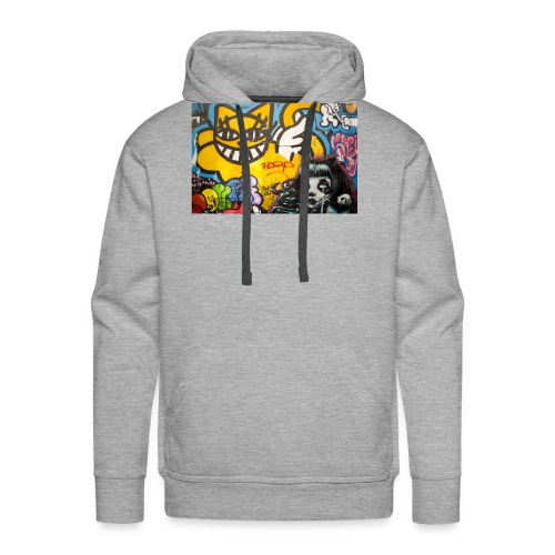PARIS STREET ART - Sweat-shirt à capuche Premium pour hommes