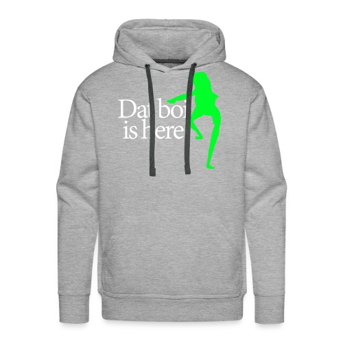 Dat boi shirt white writing - men - Men's Premium Hoodie