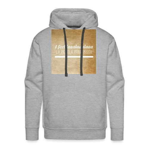 Eco Shopper - La Piccola Principessa- Feellaalaala - Mannen Premium hoodie