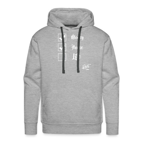 (BUT) MONEY HOUSE AND LIFE - Men's Premium Hoodie