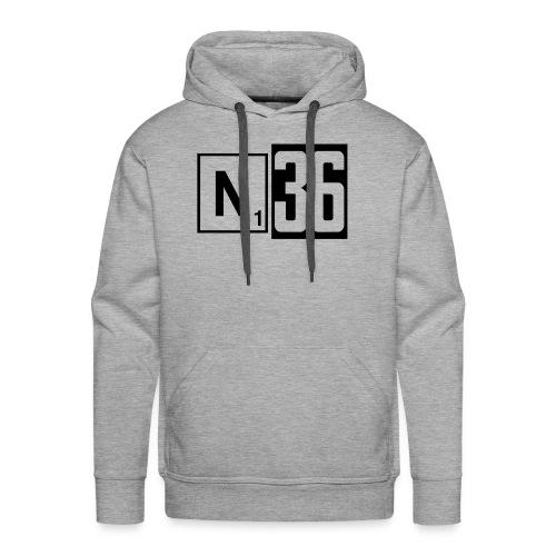 n36_kk - Mannen Premium hoodie