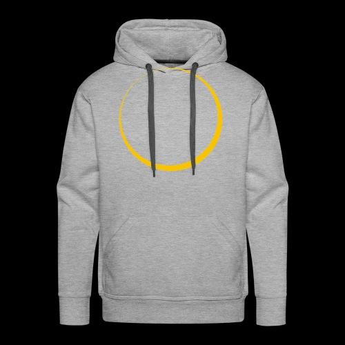 ECLIPSE - Yellow Sun - Felpa con cappuccio premium da uomo