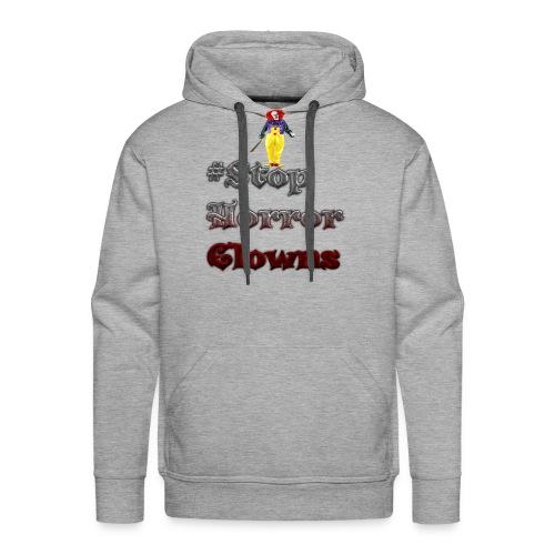 #Stop Horror Clowns - Männer Premium Hoodie