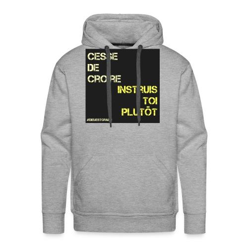 Motivation - Sweat-shirt à capuche Premium pour hommes