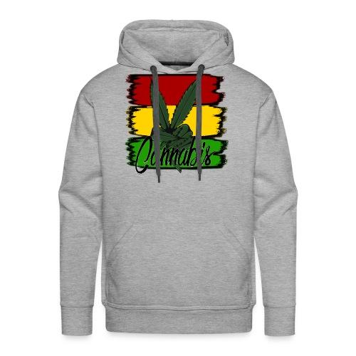 Cannabis - Herre Premium hættetrøje